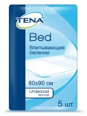 Пеленки Tena Bed Underpad Normal, 60х90 см, 5 шт.