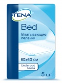 Пеленки Tena Underpad Normal, 60х60 см, 5 шт.